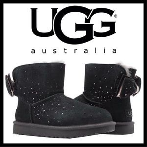 UGG Stargirl Bow Mini Ankle Boots NEW IN THE BOX!